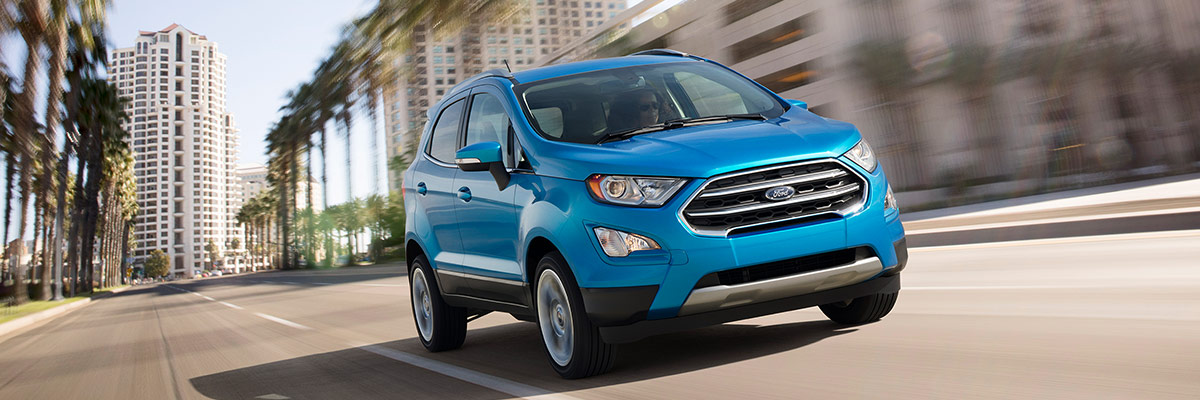 2018 Ford EcoSport Engine Specs & Performance