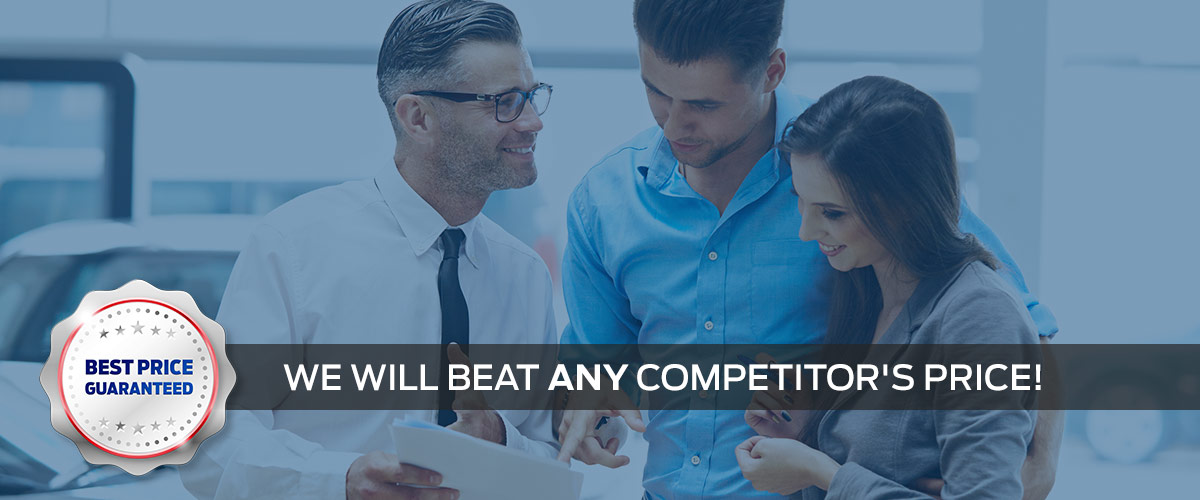 Best Price Guaranteed! We Will Beat Any Competitor's Price!