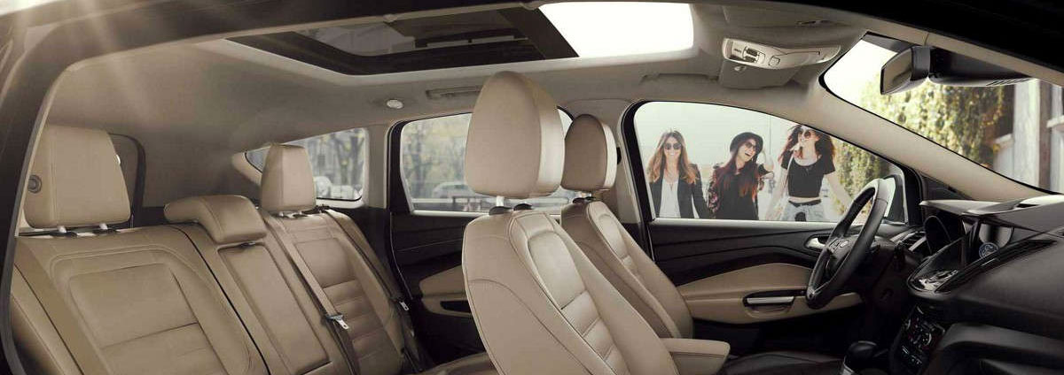 2018 Ford Escape - Wide range of comfort and convenience features available