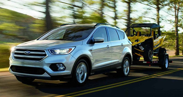 Ford Escape with performance, handling and towing capability