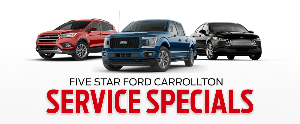 Five Star Ford Carrollton Service Specials