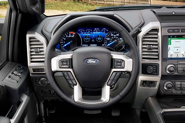 2019 Ford Super Duty Interior & Design
