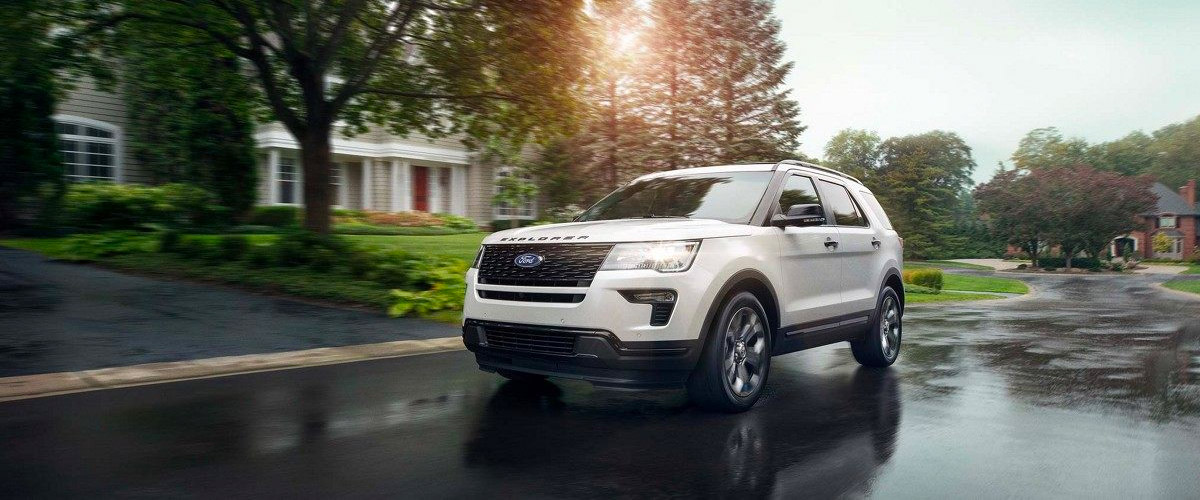 The New 2019 Ford Explorer Header