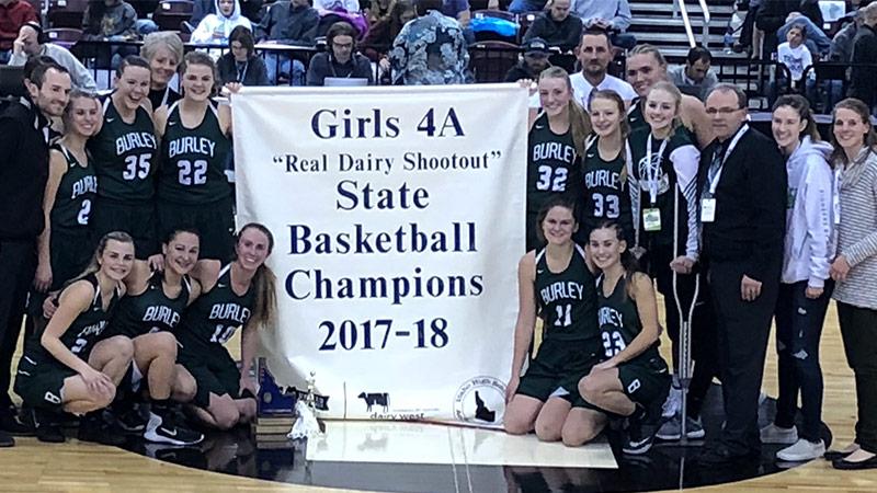 Lady Bobcats 2017-2018 State Champions