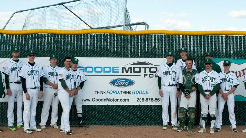 Goode Motor Ford Sponsors Men's Bobcat Baseball Team