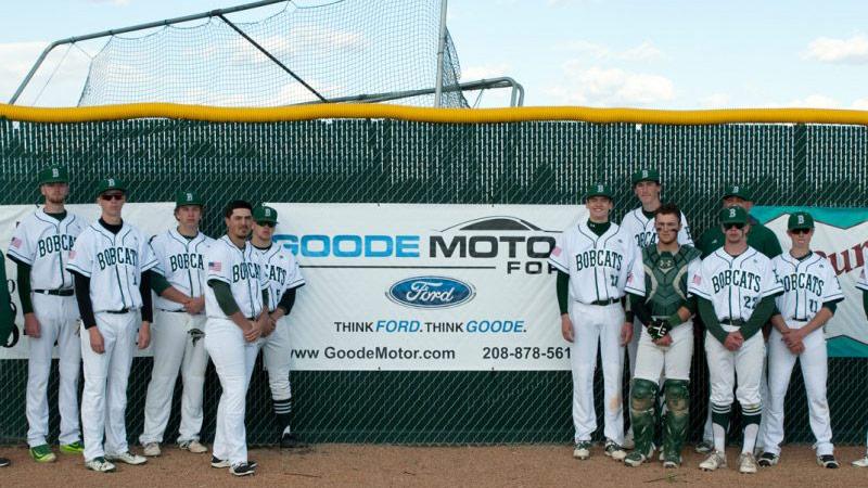 Goode Motor Ford Sponsors Men's Bobcat Baseball Team