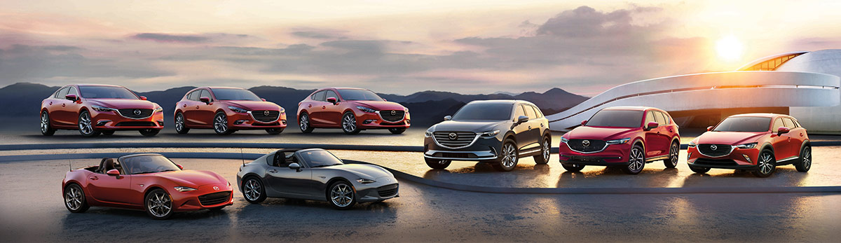 Meet The Mazda Model Lineup