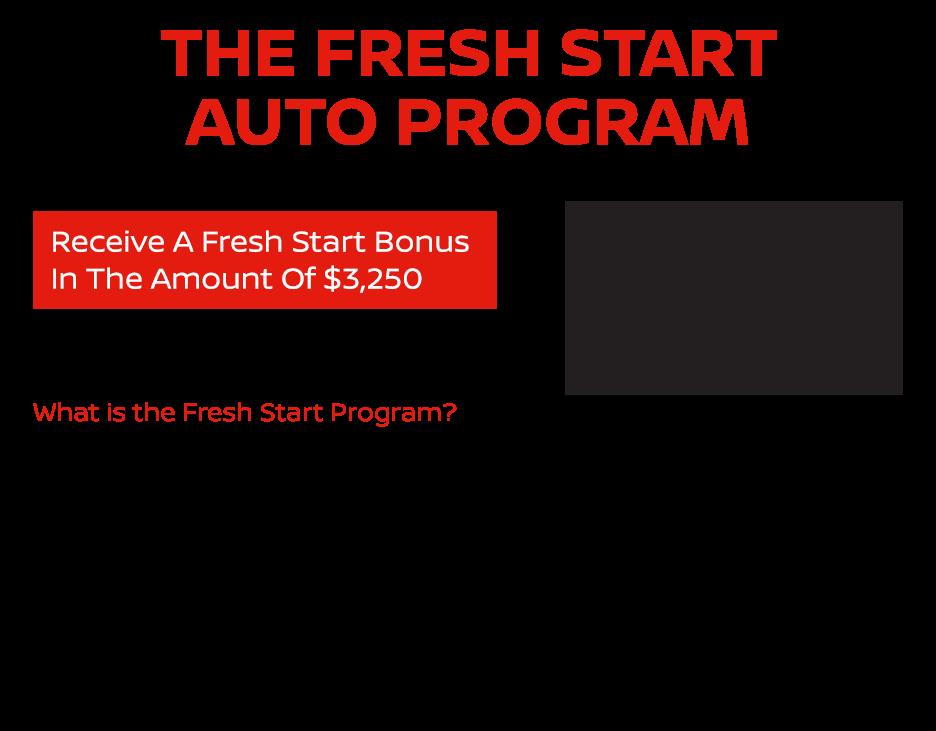 The Fresh Start Auto Program