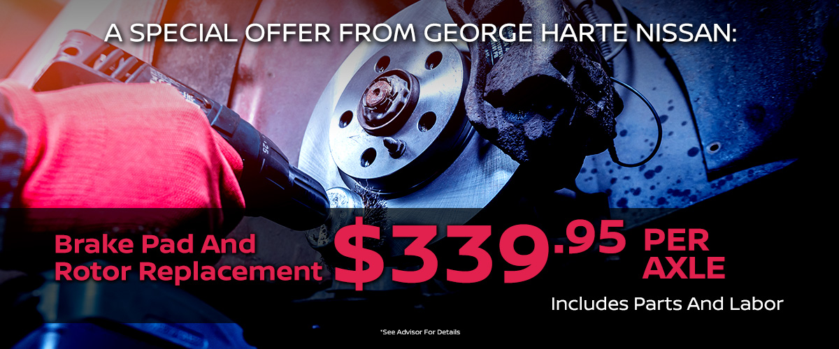 A Special Offer From George Harte Nissan
