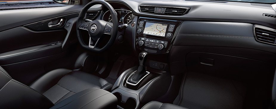 Nissan Rogue® SL shown in Charcoal Leather