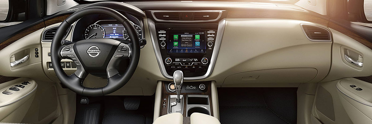 2019 Nissan Murano Interior & Technology