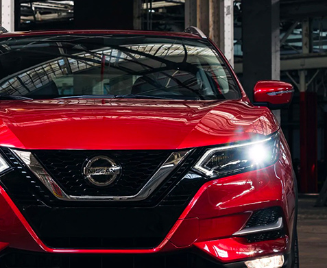 2020 Nissan Rogue Sport front end