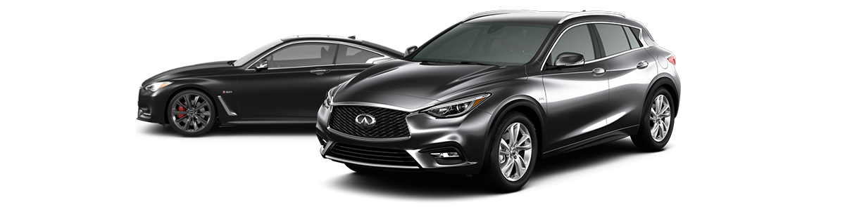 2018 Q60 and 2018 QX30