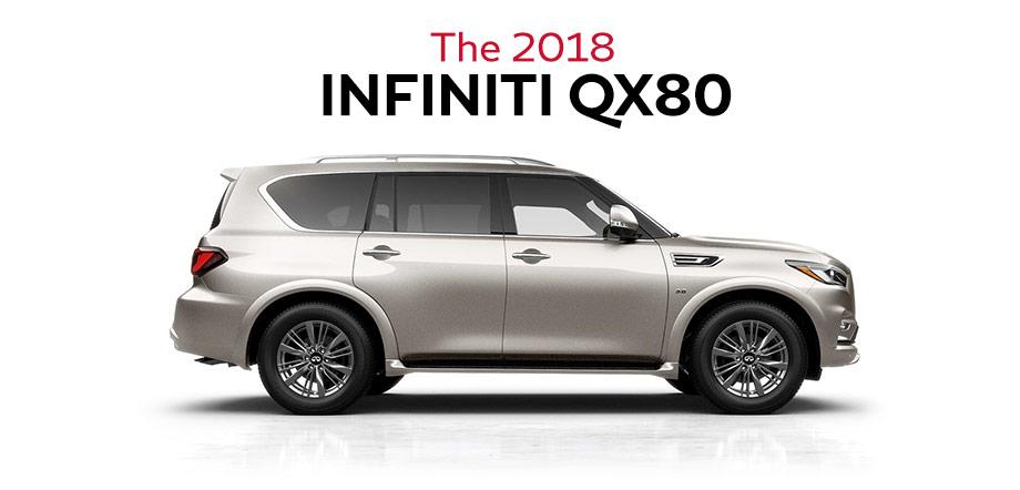 The 2018 INFINITI QX80
