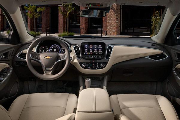 2019 Chevy Malibu Interior & Technology