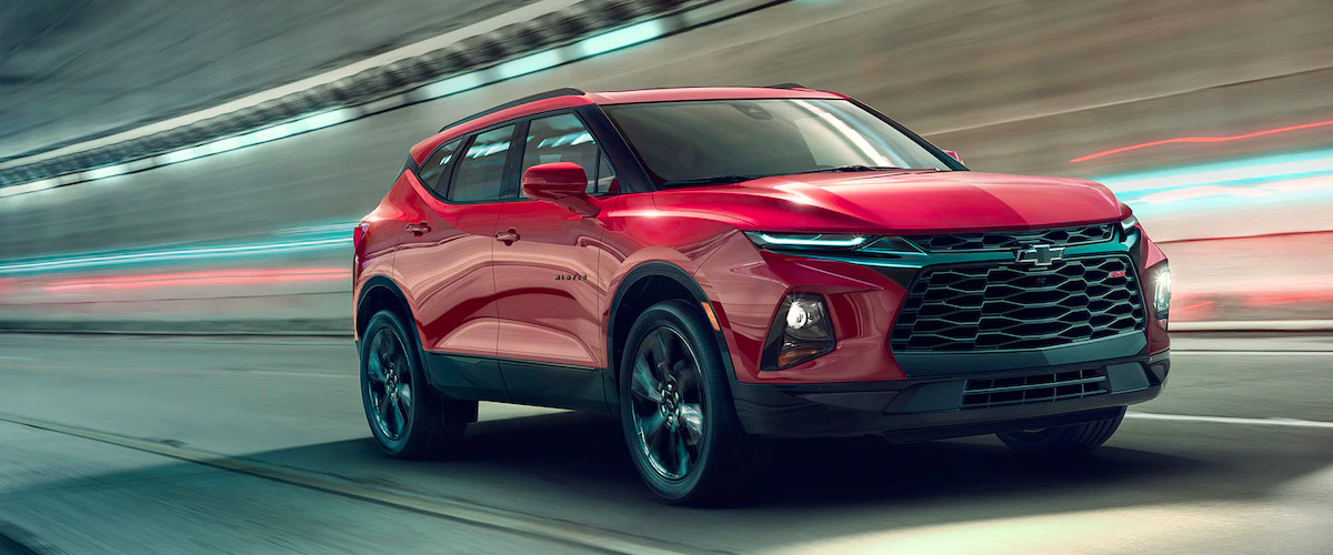The New 2019 Chevy Blazer header