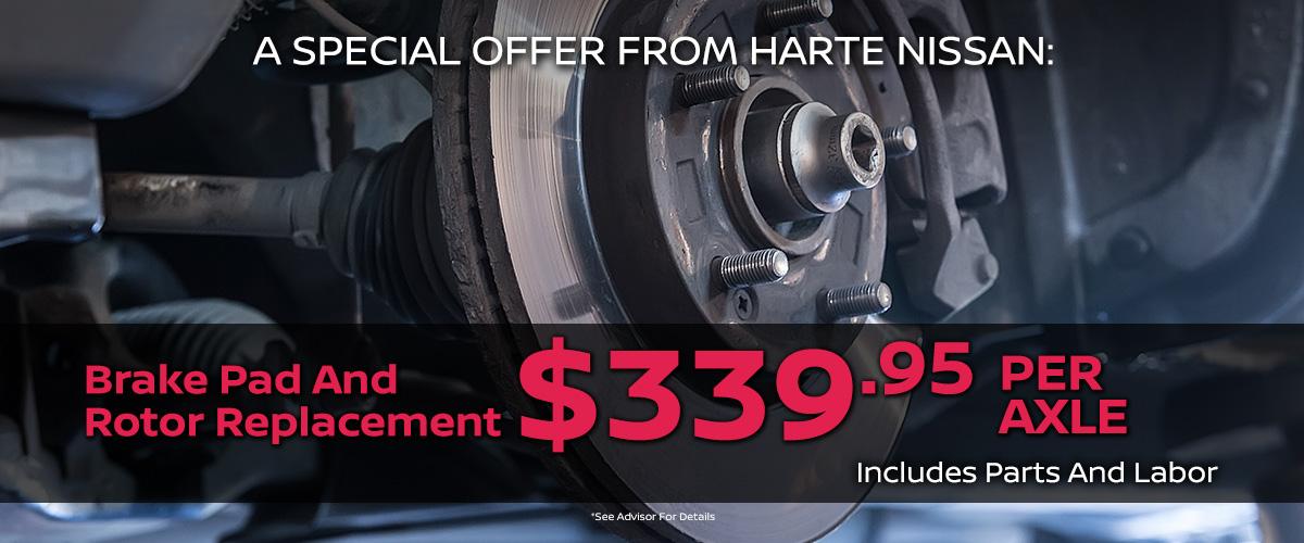 Nissan Brake Service in Hartford, CT | Nissan Brake Repairs
