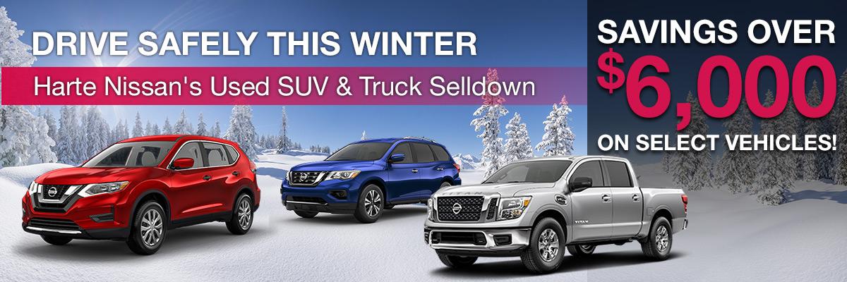 Savings Over $6,000 On Select Vehicles!