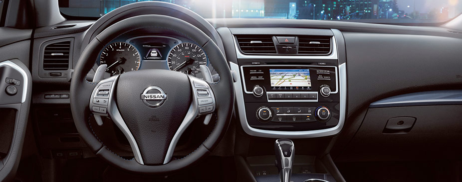 2018 interior nissan altima dashboard
