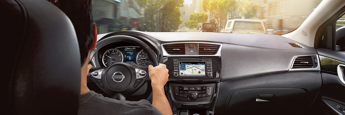 2018 Nissan Sentra 2018 Nissan Sentra Interior