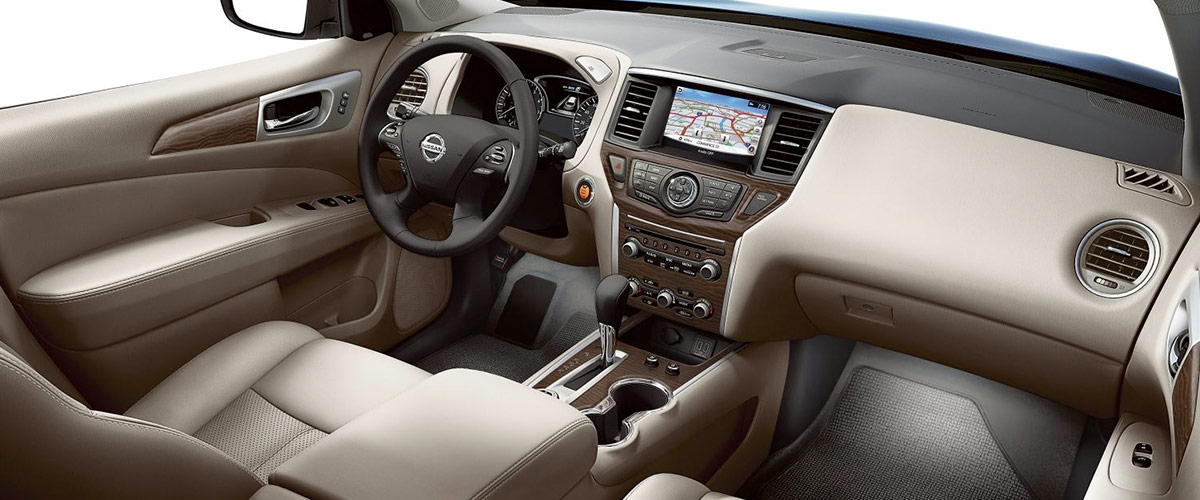 The 2018 Nissan Pathfinder Footer