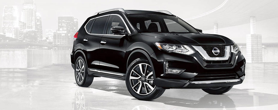 Nissan Rogue® SL shown in Magnetic Black