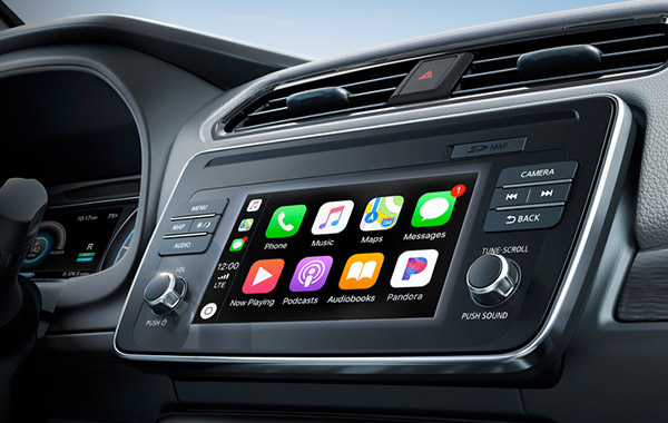 What Nissan Models Have Bluetooth® — Console