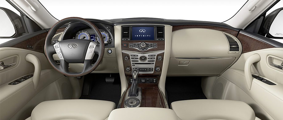 The 2018 INFINITI QX80 Interior