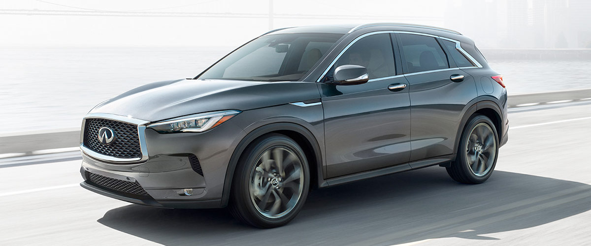 THE ALL-NEW 2019 QX50 on the road