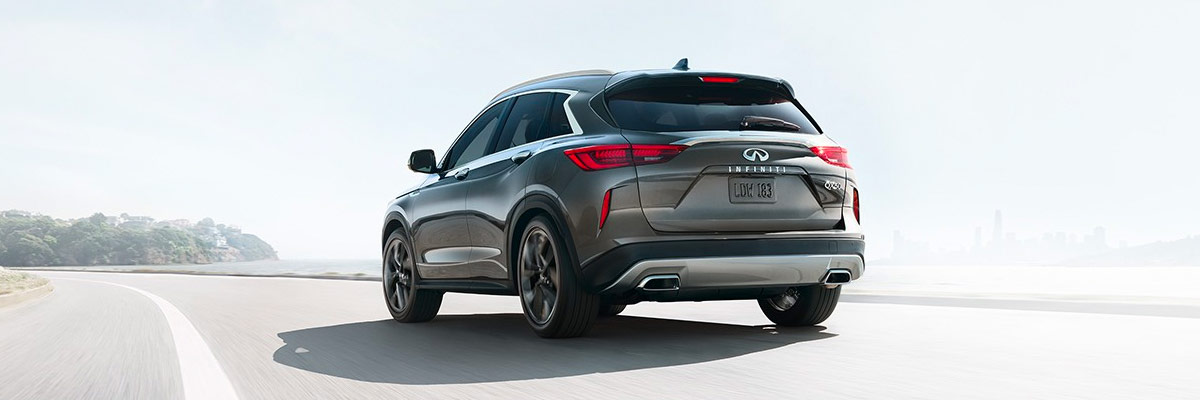 THE ALL-NEW 2019 QX50 rear side