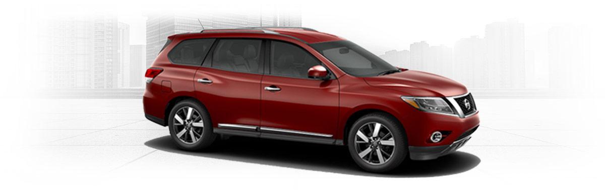 Red 2016 Nissan Pathfinder