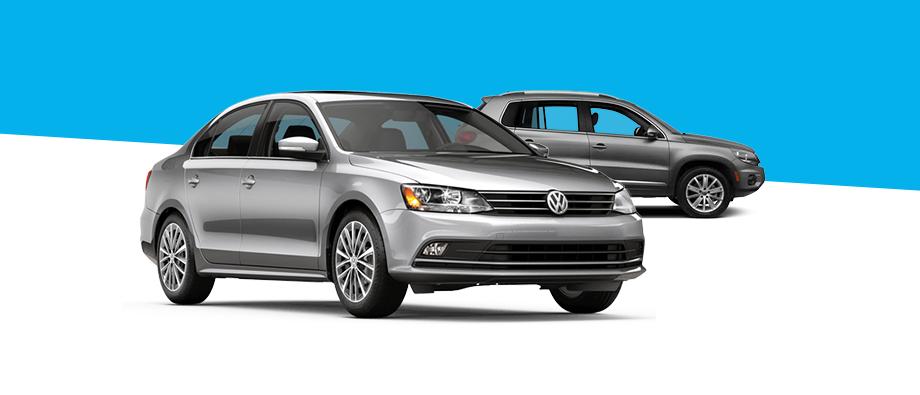 2016 Volkswagen Jetta and 2016 Tiguan