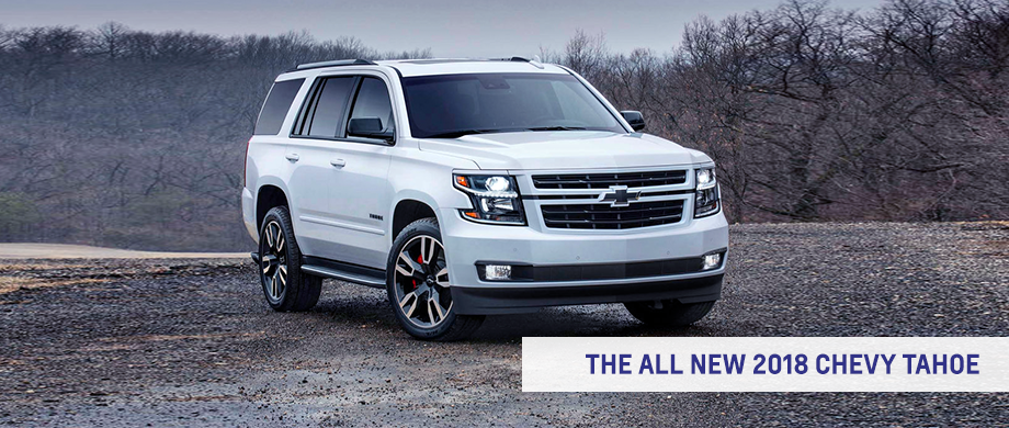 Jimmy Britt Chevrolet >> The 2018 Chevrolet Tahoe RST Arrives Soon near Athens, GA!