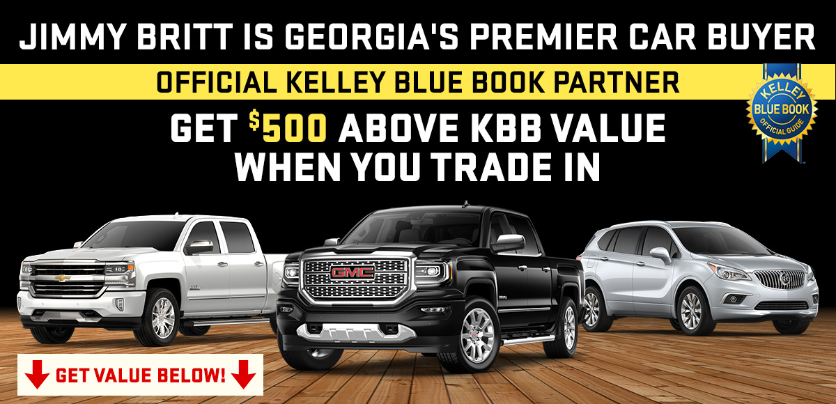 Value Your Trade with Jimmy Britt Chevrolet