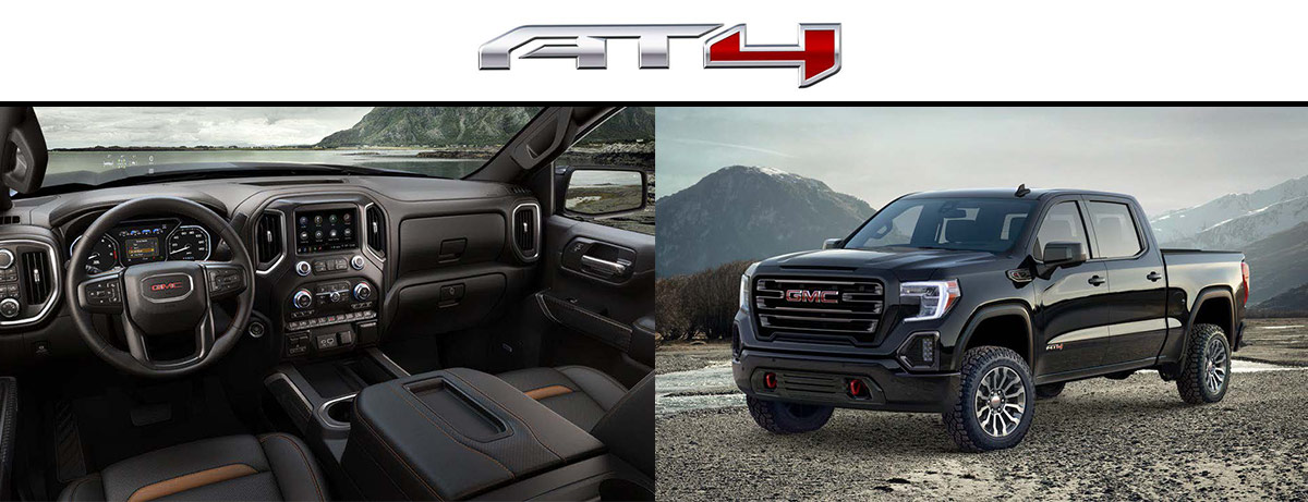 2019 GMC Sierra AT4 Specs