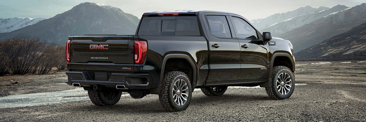 2019 GMC Sierra AT4 Footer