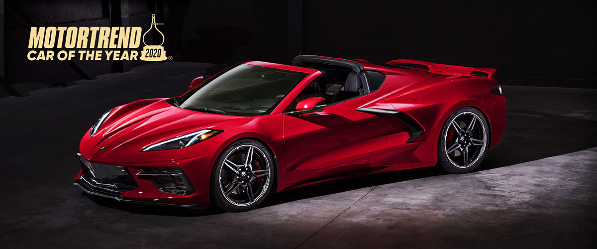 2020 Chevrolet Corvette header