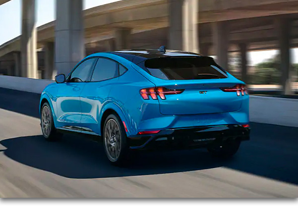 The 2021 Ford Mustang Mach-E is the ultimate all-electric crossover.