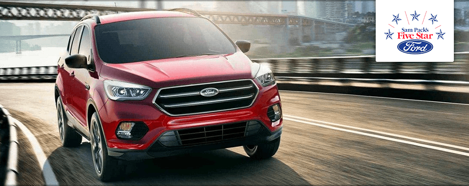 2018 Ford Escape S Header
